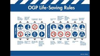 Жизненно важные правила. IOGP. Life-saving rules