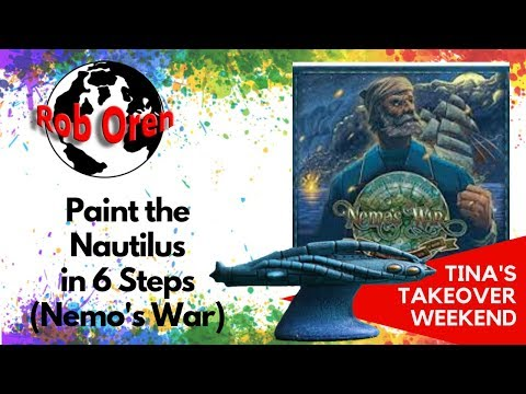 Paint the Nautilus in 6 Steps (Nemo's War)