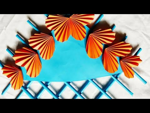 Wall Hanging with Paper / paper craft wall mate 2019/কাগজের ওয়ালমেট #6