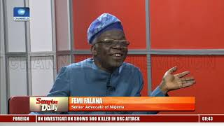 2019 General Elections, 'An Expensive Joke' – Falana  Sunrise Daily 