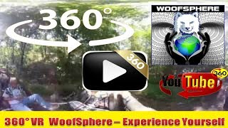 360 Videos | FurWheeling C&O Towpath from Paw Paw to Little Orleans | Virtual Reality | Woofsphere