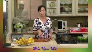 Uyen Thy's Cooking - Chuối Nếp Nướng