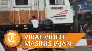 Viral Video Dugaan Masinis Jajan Gorengan Sambil Parkir Kereta, Ini Klarifikasi KAI