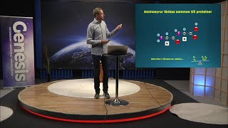 Thumbnail for video: Livets ursprung del 2/2 - Biblisk kreationism avsnitt 8 - Göran Schmidt