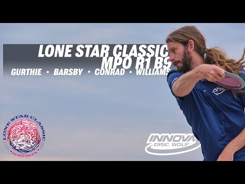 2021 Lone Star Classic | RD1 B9 | Gurthie, Barsby, Conrad, Williams | MPO1 | GKPro Disc Golf