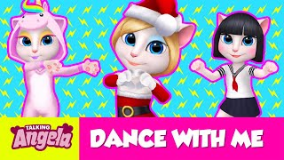 🎄 Dance Tutorial: Holiday Special - NEW in My Talking Angela (Gameplay)