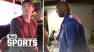 LUKE WALTON AND LAMAR ODOM READY TO TEAM UP AGAIN... MAYBE? | TMZ Sports