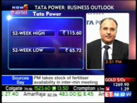 Mr. Anil Sardana, MD - Tata Power shares his insights with ET NOW
