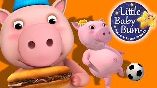 This Little Piggy | Nursery Rhymes | by LittleBabyBum!
