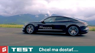 Porsche Taycan 4S - Performance Battery Plus TEST - GARAZ.TV