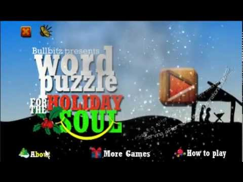 Video of WORD PUZZLE for the HOLIDAY