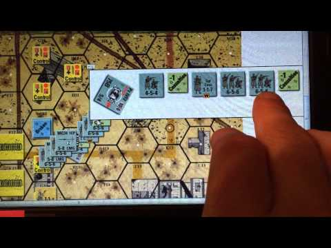 Infantry, Sequence of Play and firing basics