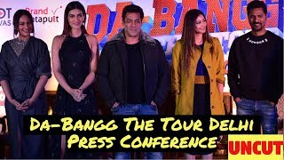 Salman Khan's Da-Bangg The Tour Delhi | Press Conference
