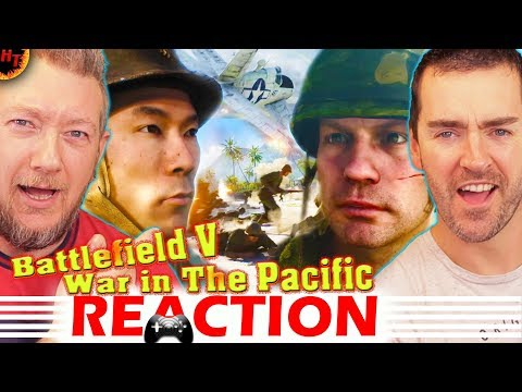 ''War in the Pacific'' REACTION! Battlefield V Trailer
