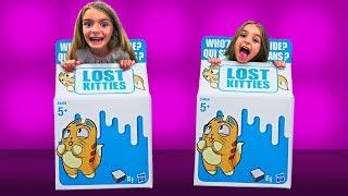 QUE HAY DENTRO DE ESTAS CAJAS??!! LOS NUEVOS LOST KITTIES + SORTEO!! Las Ratitas