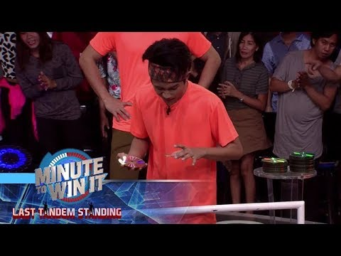 Disco Drop | Minute To Win It - Last Tandem Standing
