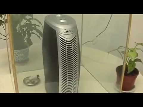 ionizador purificador de aire midea con filtro hepa