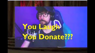 Brad still doesn't know PewDiePie donated to him
