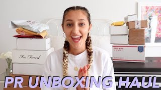 HUGE PR UNBOXING HAUL! Too Faced, Princess Polly & more