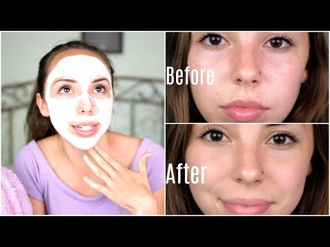 BEST FACE MASK EVER?! Sand & Sky Face Mask Review