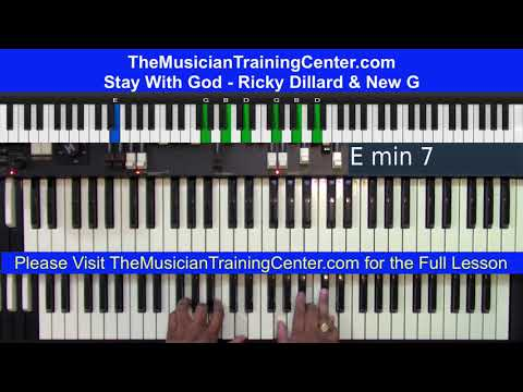 "Organ: How to Play ""Stay With God"" by Ricky Dillard & New G"