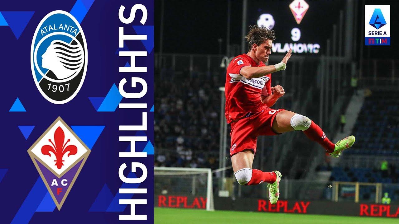 Atalanta 1-2 Fiorentina | Vlahovic mette a segno una doppietta dal dischetto | Serie A TIM 2021/22
