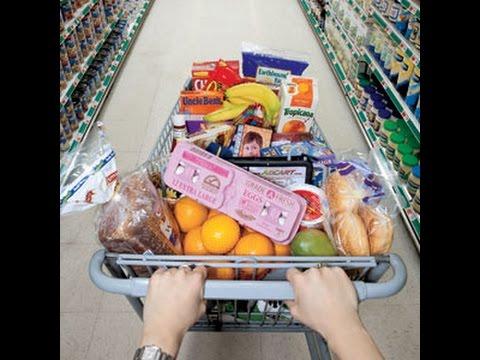 США. Супермаркет, цены на основные продукты (молоко, мясо, овощи...)