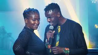 Winnie Nwagi & FreeBoy Kwata Essimu Live Performance (MoMo Nyabo)