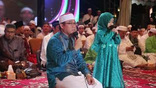 AISHWA NAHLA SHALAWATAN DI DEPAN USTAD ABDUL SOMAD Di PALEMBANG