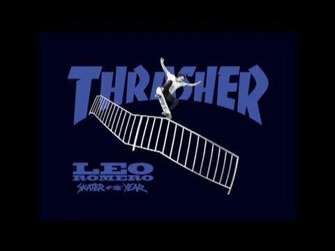 Leo Romero - Thrasher Skater of the Year 2010