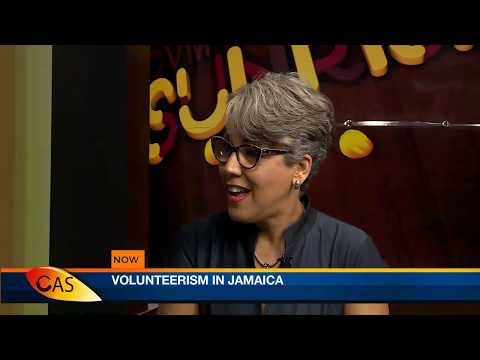 CVM Television Live Stream - Volunteerism in Jamaica SEP 17, 2018