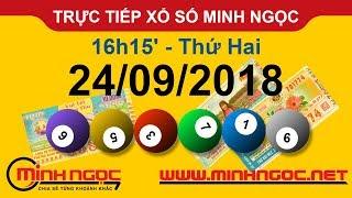 Xổ số Minh Ngọc™ Thứ Hai 24/09/2018 - Kênh chính thức từ Minhngoc.net.vn