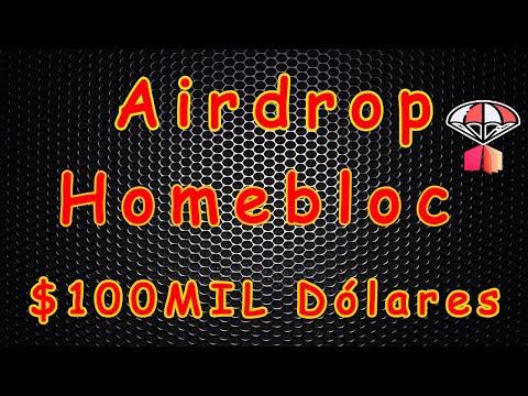 Airdrop de $100,000 Dólares Oficial Homebloc , IMPERDÍVEL ! 🚀
