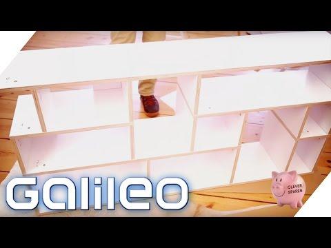 Möbel selbst designen | Galileo | ProSieben