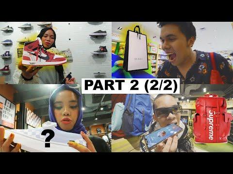 PART 2 2/2  Panik Bingung Beliin Apa!!! Gen Halilintar Saling Beliin Kado Satu Sama Lain