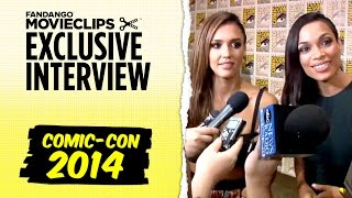 Джессика Альба, Jessica Alba & Rosario Dawson 'Sin City: A Dame To Kill For' Exclusive Interview