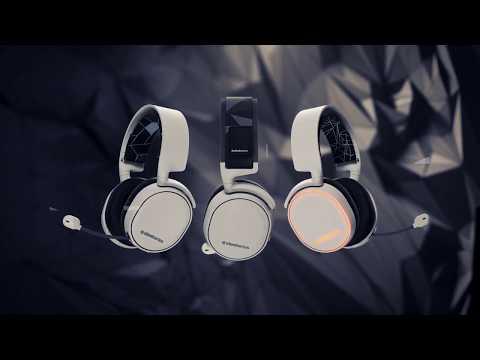 Видео № 0 из игры Беспроводная игровая гарнитура SteelSeries Arctis 7, white (2019 Edition)