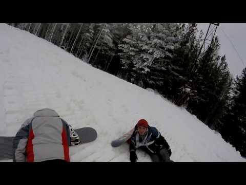 Видео: Видео горнолыжного курорта Пильная, Гора в Свердловская область