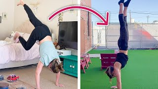 Women Learn To Handstand In 7 Days