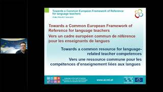 Webinar: Towards a common resource for language-related teacher competences