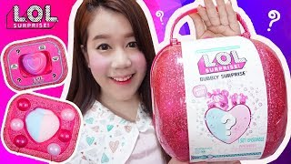 คะน้ารีวิว ♡ L.O.L ฟองฟู่เซอร์ไพรส์ ไข่ชมพูยักษ์ !! | Bubbly Surprise