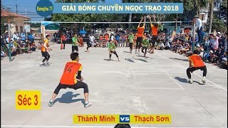 Thạch Sơn vs Thành Minh |  Giải Ngọc Trạo 2018 .