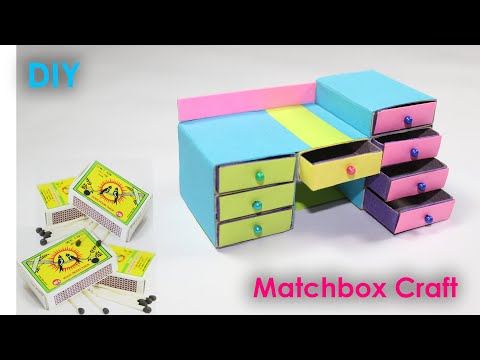 Waste Matchbox Reuse Idea Best Out Of Waste Diy Arts And Crafts