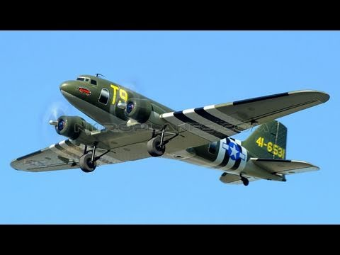 New 2.4Ghz 4 Channel Dynam C47 Transporter Brushless RC Plane Review