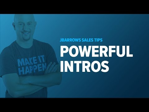 Cold Calling Tips - Starting with Powerful Introductions - YouTube