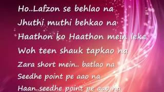 Acha lagta hai - Aarakshan {full song with lyrics} - YouTube