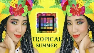 One Brand Makeup - Tropical Summer With NYX Cosmetics [Vanmiu Beauty]
