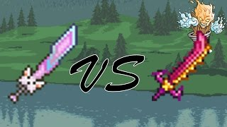 Meowmere VS Star Wrath – Which is Better? Terraria 1.3.4.4