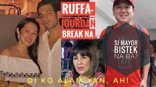 Scoop! Break na pala sina Ruffa at Jourdan | Si Mayor Bistek na ba? | Di raw alam ni Tita Annabelle