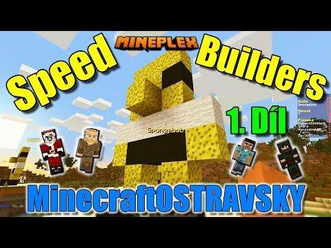 #1 | Speed Builders na Mineplex | Tak vyzkoušíme naši paměť :-D  | MinecraftOSTRAVSKY | [FULLHD]